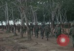 Image of 2nd Battalion of 173rd Airborne Brigade Combat Team Vietnam Bien Hoa Air Base, 1965, second 7 stock footage video 65675022708