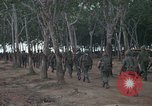Image of 2nd Battalion of 173rd Airborne Brigade Combat Team Vietnam Bien Hoa Air Base, 1965, second 8 stock footage video 65675022708