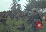 Image of 2nd Battalion of 173rd Airborne Brigade Combat Team Vietnam Bien Hoa Air Base, 1965, second 10 stock footage video 65675022708