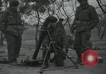 Image of 81 mm Mortar Anyang Korea, 1950, second 5 stock footage video 65675022726