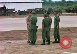 Image of 173rd Airborne Brigade Vietnam Bien Hoa Air Base, 1965, second 12 stock footage video 65675022736
