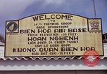 Image of 173rd Airborne Brigade troops Vietnam Bien Hoa Air Base, 1965, second 9 stock footage video 65675022737