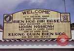Image of 173rd Airborne Brigade troops Vietnam Bien Hoa Air Base, 1965, second 11 stock footage video 65675022737