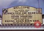 Image of 173rd Airborne Brigade troops Vietnam Bien Hoa Air Base, 1965, second 12 stock footage video 65675022737