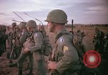 Image of 173rd Airborne Brigade troops Vietnam Bien Hoa Air Base, 1965, second 7 stock footage video 65675022738