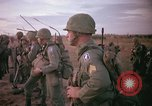 Image of 173rd Airborne Brigade troops Vietnam Bien Hoa Air Base, 1965, second 8 stock footage video 65675022738