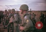 Image of 173rd Airborne Brigade troops Vietnam Bien Hoa Air Base, 1965, second 9 stock footage video 65675022738