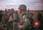 Image of 173rd Airborne Brigade troops Vietnam Bien Hoa Air Base, 1965, second 10 stock footage video 65675022738