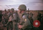 Image of 173rd Airborne Brigade troops Vietnam Bien Hoa Air Base, 1965, second 11 stock footage video 65675022738