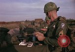 Image of 173rd Airborne Brigade troops Vietnam Bien Hoa Air Base, 1965, second 4 stock footage video 65675022739