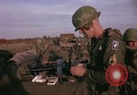 Image of 173rd Airborne Brigade troops Vietnam Bien Hoa Air Base, 1965, second 5 stock footage video 65675022739