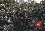 Image of 25th Infantry Division soldiers Vietnam Cu Chi, 1967, second 11 stock footage video 65675022783