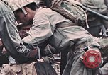 Image of United States Marines Peleliu Palau Islands, 1944, second 11 stock footage video 65675022865