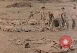 Image of Burial of fallen Marines Palau Islands, 1944, second 4 stock footage video 65675022884
