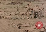 Image of Burial of fallen Marines Palau Islands, 1944, second 5 stock footage video 65675022884