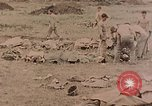 Image of Burial of fallen Marines Palau Islands, 1944, second 6 stock footage video 65675022884