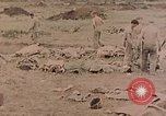 Image of Burial of fallen Marines Palau Islands, 1944, second 8 stock footage video 65675022884