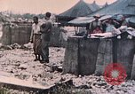 Image of U.S. Marine bivouac area Palau Islands, 1944, second 4 stock footage video 65675022886