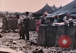 Image of U.S. Marine bivouac area Palau Islands, 1944, second 7 stock footage video 65675022886