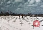 Image of U.S. Armed Forces Cemetery No. 1 Peleliu Palau Islands, 1944, second 2 stock footage video 65675022888