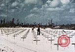 Image of U.S. Armed Forces Cemetery No. 1 Peleliu Palau Islands, 1944, second 3 stock footage video 65675022888