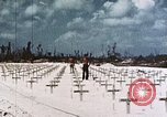 Image of U.S. Armed Forces Cemetery No. 1 Peleliu Palau Islands, 1944, second 10 stock footage video 65675022888