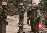 Image of First Division Marines Peleliu Palau Islands, 1944, second 10 stock footage video 65675022907