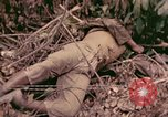 Image of 1st Tank Battalion Command Post Peleliu Palau Islands, 1944, second 9 stock footage video 65675022910