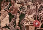 Image of 1st Tank Battalion Command Post Peleliu Palau Islands, 1944, second 11 stock footage video 65675022910