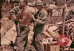 Image of 1st Tank Battalion Command Post Peleliu Palau Islands, 1944, second 12 stock footage video 65675022910