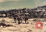 Image of 1st Tank Battalion Peleliu Palau Islands, 1944, second 9 stock footage video 65675022912