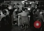Image of Interior of Combat Information Center aboard USS Mount McKinley Peleliu Palau Islands, 1944, second 1 stock footage video 65675022936