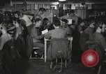 Image of Interior of Combat Information Center aboard USS Mount McKinley Peleliu Palau Islands, 1944, second 4 stock footage video 65675022936