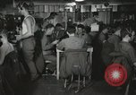 Image of Interior of Combat Information Center aboard USS Mount McKinley Peleliu Palau Islands, 1944, second 9 stock footage video 65675022936