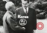 Image of Vice President Richard Nixon Seoul Korea, 1953, second 2 stock footage video 65675023021