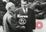 Image of Vice President Richard Nixon Seoul Korea, 1953, second 3 stock footage video 65675023021