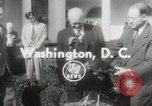 Image of President Dwight D Eisenhower Washington DC USA, 1953, second 1 stock footage video 65675023022