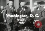 Image of President Dwight D Eisenhower Washington DC USA, 1953, second 2 stock footage video 65675023022