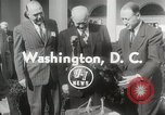 Image of President Dwight D Eisenhower Washington DC USA, 1953, second 3 stock footage video 65675023022
