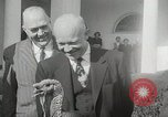 Image of President Dwight D Eisenhower Washington DC USA, 1953, second 9 stock footage video 65675023022