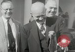 Image of President Dwight D Eisenhower Washington DC USA, 1953, second 11 stock footage video 65675023022