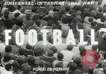 Image of College football game College Park Maryland USA, 1953, second 5 stock footage video 65675023024