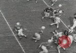Image of College football game College Park Maryland USA, 1953, second 10 stock footage video 65675023024