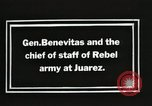 Image of General Benavides Juarez Mexico, 1913, second 3 stock footage video 65675023027