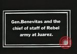 Image of General Benavides Juarez Mexico, 1913, second 4 stock footage video 65675023027