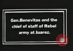 Image of General Benavides Juarez Mexico, 1913, second 5 stock footage video 65675023027