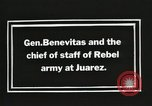 Image of General Benavides Juarez Mexico, 1913, second 7 stock footage video 65675023027