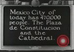 Image of Mexican Monuments Mexico City Mexico, 1925, second 1 stock footage video 65675023036