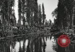 Image of Aztec Viga Canals Mexico City Mexico, 1925, second 7 stock footage video 65675023039