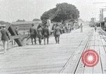 Image of Carrizal prisoners released El Paso Texas International Bridge USA, 1916, second 8 stock footage video 65675023061